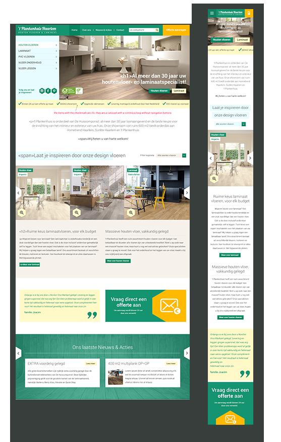 Case: 't Plankenhuis Haarlem zocht naar een verbeterd ontwerp van de website